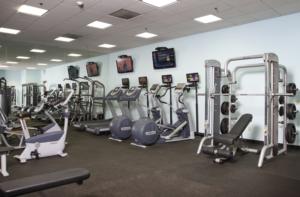 fitness room at Barrington Golf Club