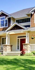front porch of home in Barrington Estates
