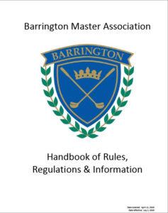 Barrington Master Association Handbook