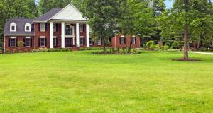 large brick house in Barrington Estates